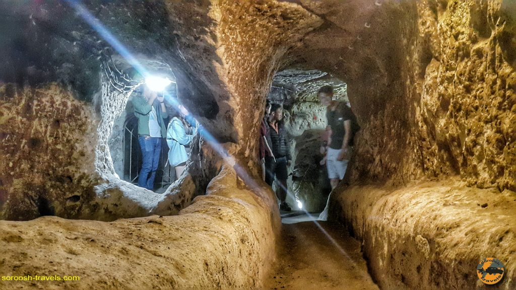 شهر زیرزمینی درین کویو در ترکیه –  ۲۷ شهریور ۱۳۹۷