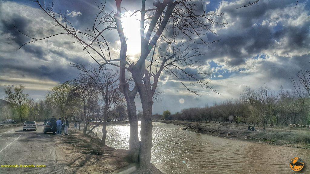زاینده رود - اصفهان - نوروز 1398