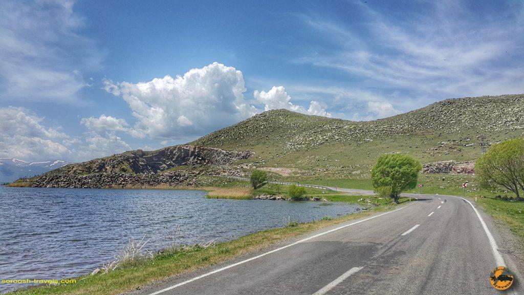 دریاچه چیلدیر در ترکیه
