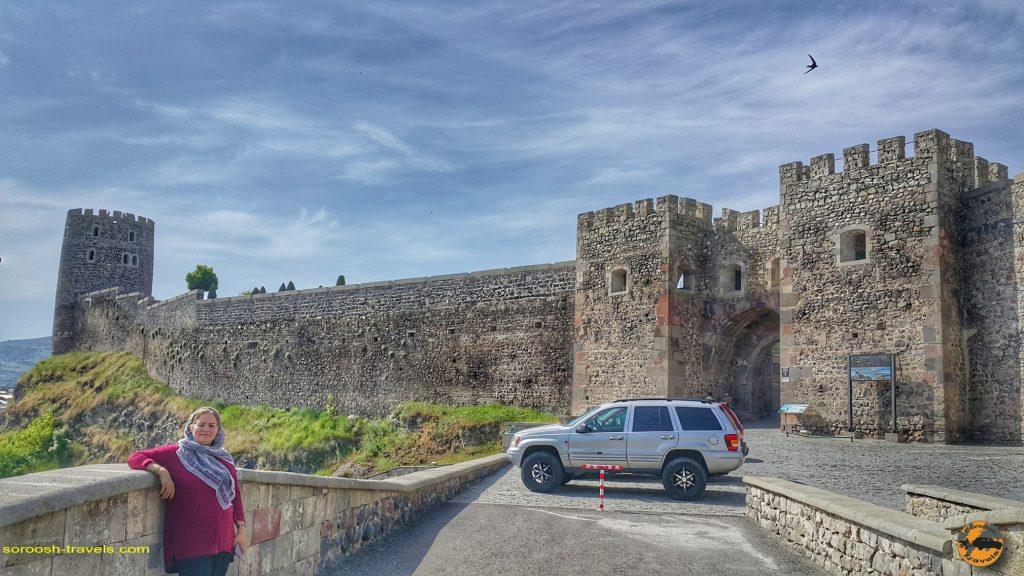 قلعه شهر آخالت سیخه در گرجستان