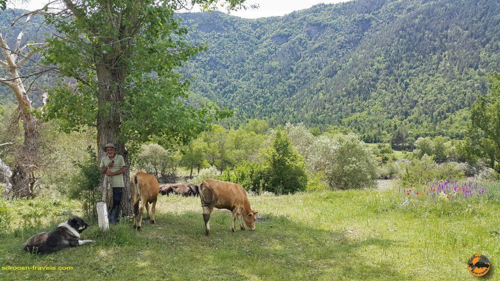 مسیر آخالت سیخه به پارک ملی خاراگولی برجومی در گرجستان