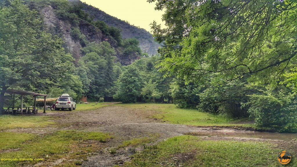 پارک ملی خاراگولی برجومی در گرجستان