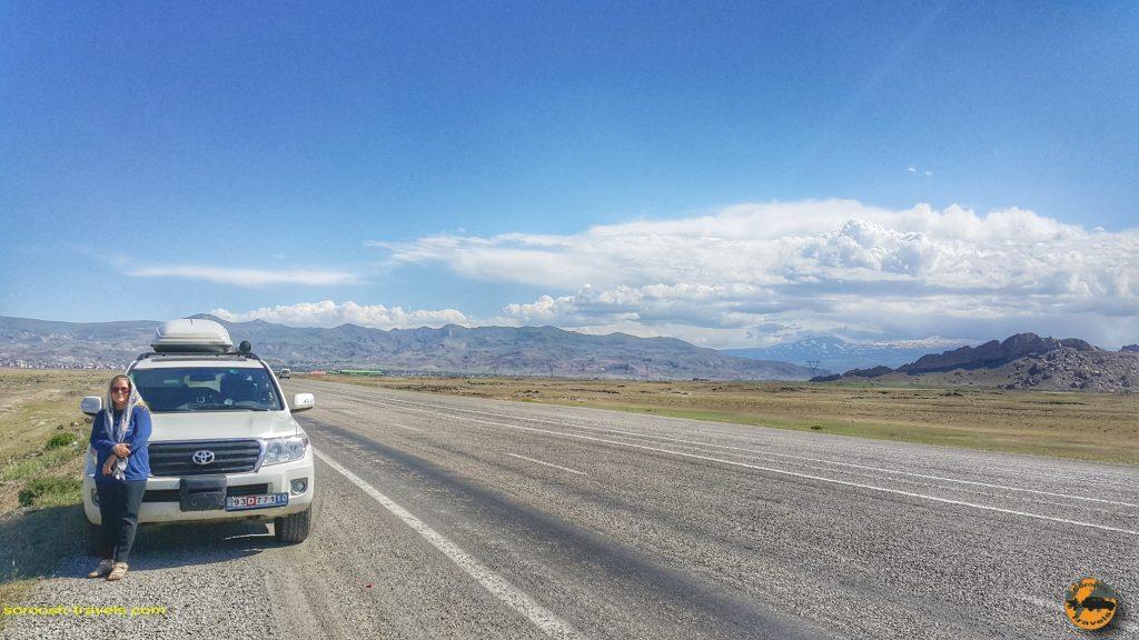 پیش بسوی روسیه با اتوموبیل: از تهران تا کارس در ترکیه – تابستان ۱۳۹۸