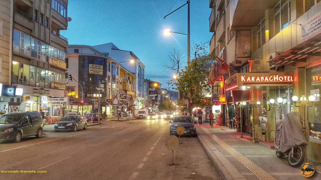 شهر کارس در ترکیه