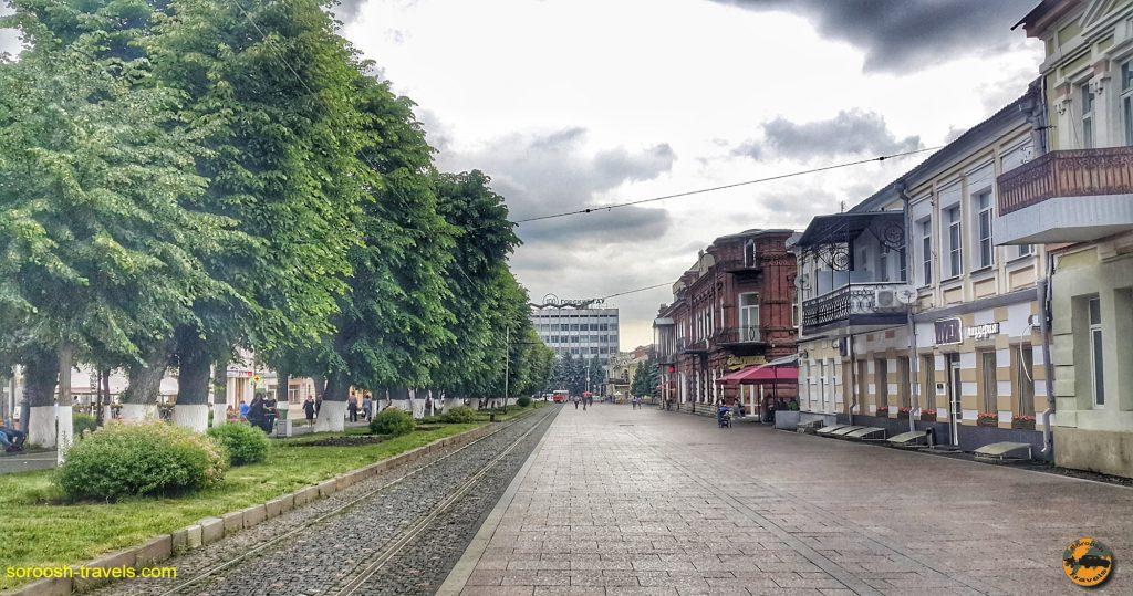 شهر ولادی قفقاز در روسیه