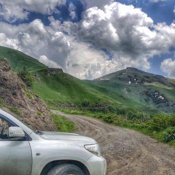 مسیر برجومی به واردزیا در گرجستان