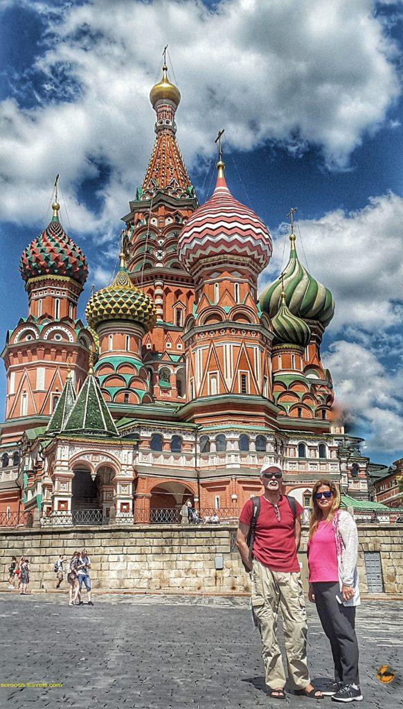 کلیسای سنت باسیل در مسکو - تابستان 1398