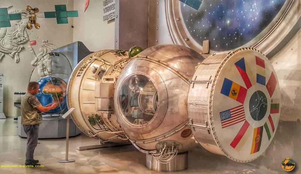 سفرنامه روسیه با اتوموبیل: موزه فضانوردی مسکو – تابستان ۱۳۹۸