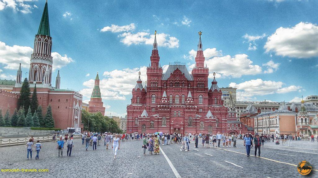 سفرنامه روسیه با اتوموبیل: مسکو – تابستان ۱۳۹۸