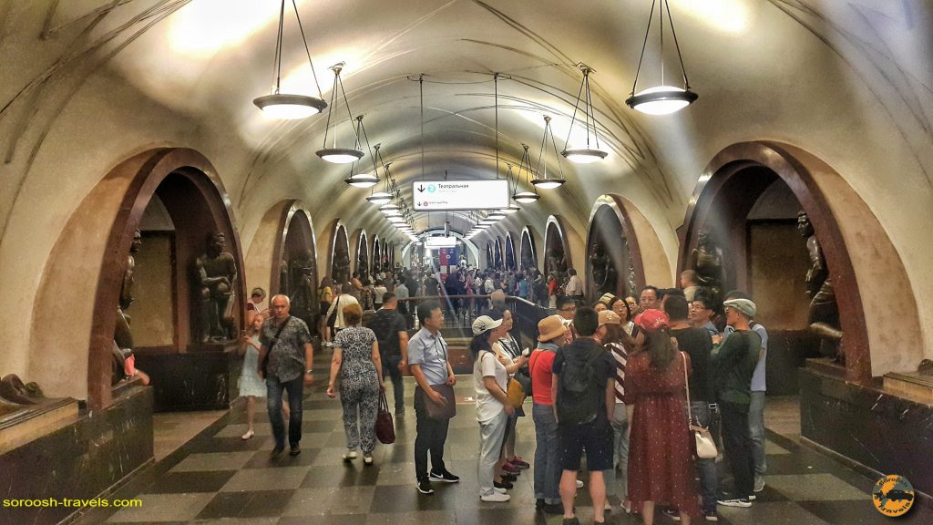 ایستگاههای مترو در مسکو - تابستان 1398