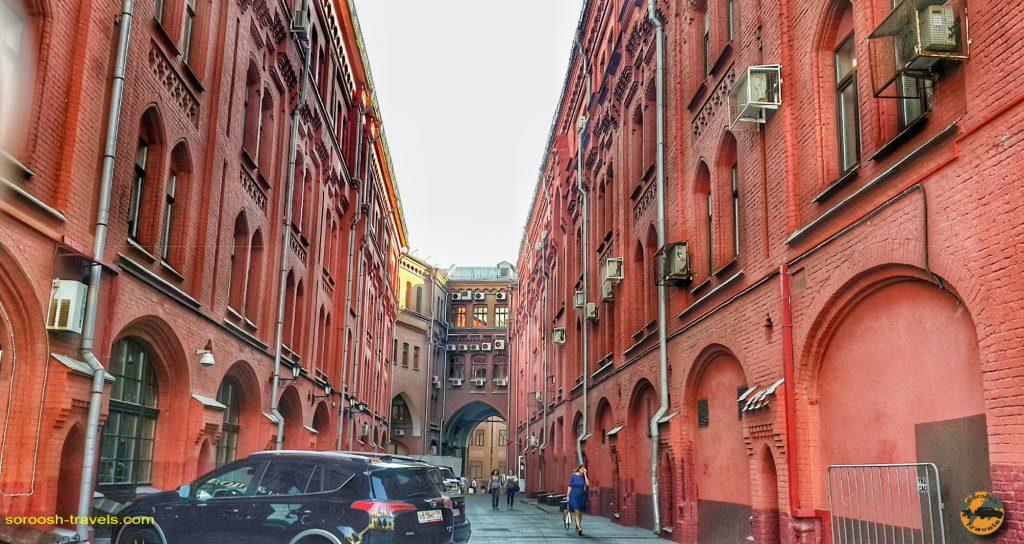 خیابانهای مسکو - تابستان 1398
