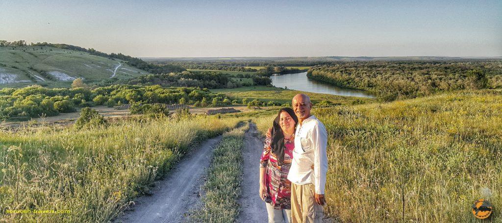 رودخان معروف دُن در منطقه پودگورینسکی در روسیه - تابستان 1398