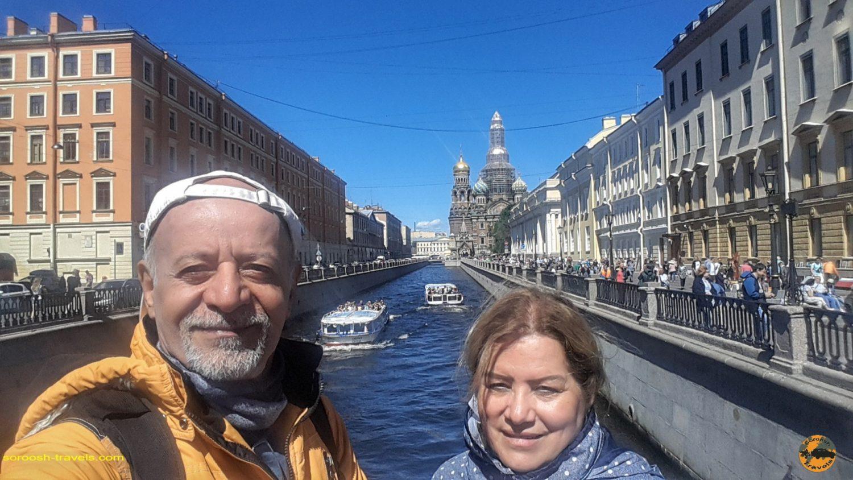 سنت پترزبورگ، روسیه - تابستان 1398 2019