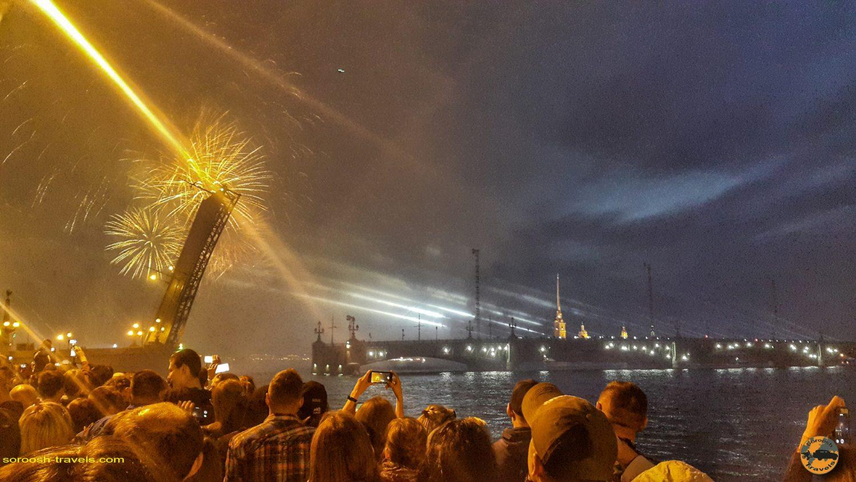 فستیوال اسکارلت در سنت پترزبورگ، روسیه - تابستان 1398 2019