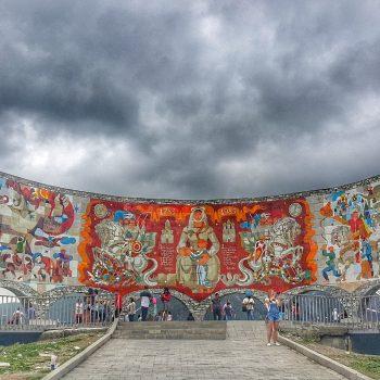 بنای یادبود دوستی روسیه و گرجستان