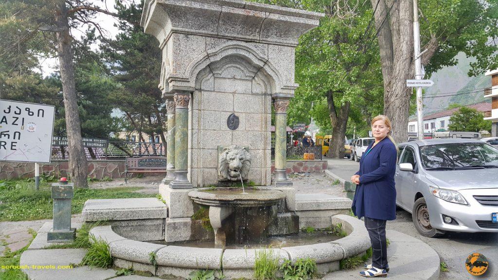 کازبگی یا استفانتزمیندا در شمال گرجستان