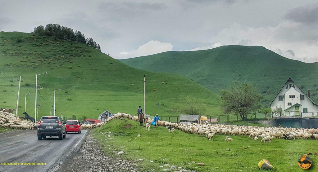 از تیانتی تا کازبگی در شمال گرجستان