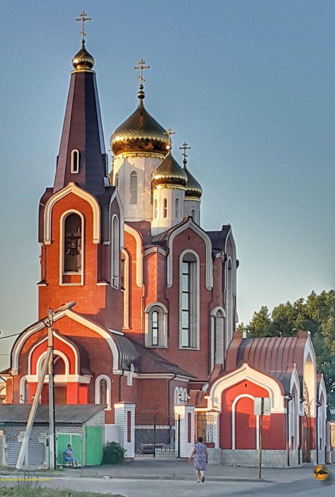 کلیسایی در مسیر ولگوگراد تا نووآننینسکی - روسیه
