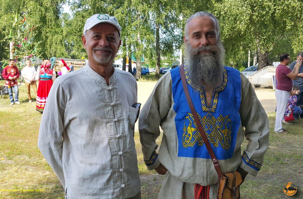 فستیوال موسیقی و رقص سنتی در حوالی شهر ورونژ در روسیه - تابستان 1398