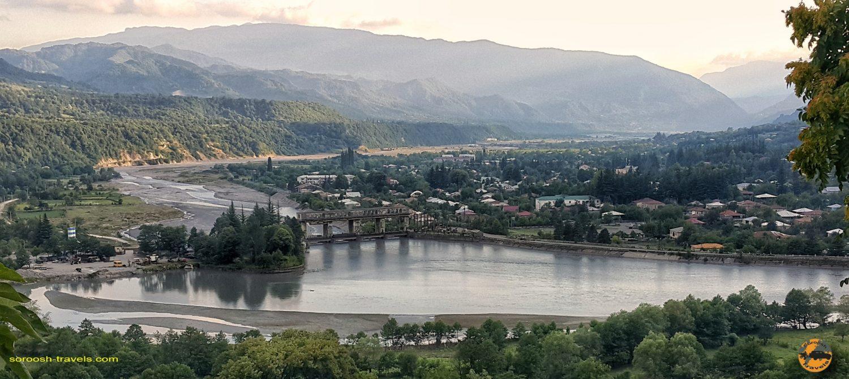 جاده زیبای تساگری، گرجستان  – تابستان ۱۳۹۸