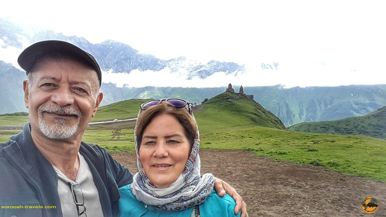 منطقه کازبگی در گرجستان - تابستان 1398 2019