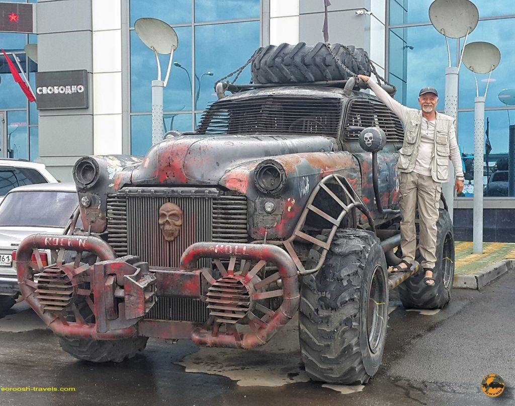 سفرنامه روسیه با اتوموبیل: موزه شهر کامنسک شاختینسکی – تابستان ۱۳۹۸