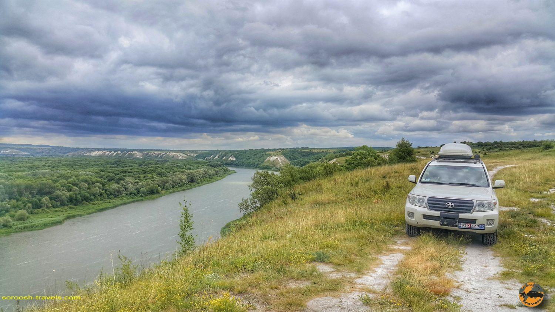 رودخانه دون در مسیر کامنسک شاختینسکی - روسیه - تابستان 1398 2019