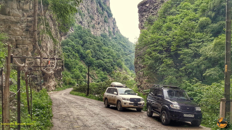 مسیر آبشار چگم در روسیه - تابستان 1398 2019