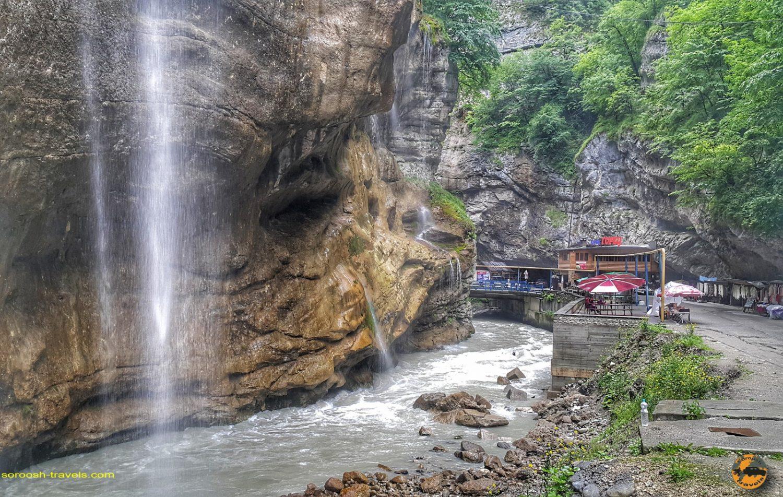 آبشار چگم در روسیه - تابستان 1398 2019