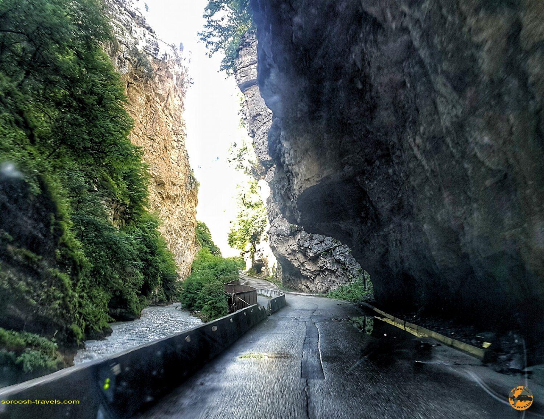 جاده آبشار چِگِم در روسیه - تابستان 1398 2019