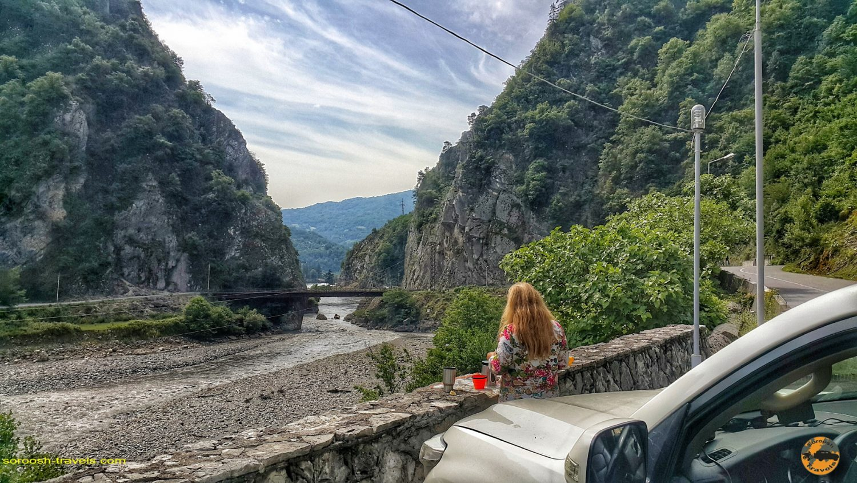 از تساگری بطرف اوشگولی در گرجستان - تابستان 1398 2019