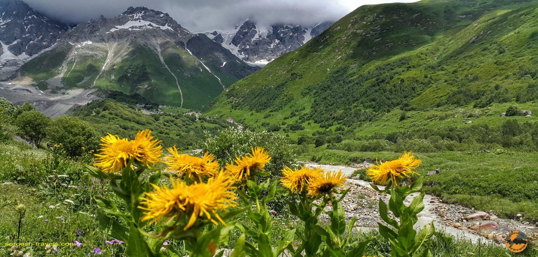 منطقه اوشگولی در گرجستان - تابستان 1398 2019