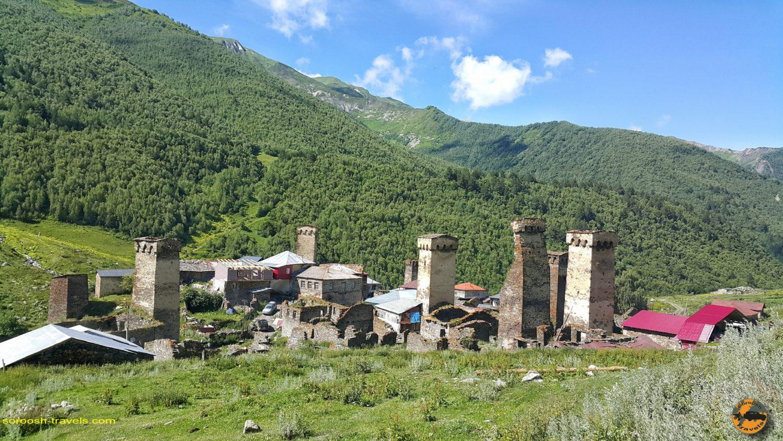 روستای اوشگولی در گرجستان - تابستان 1398 2019
