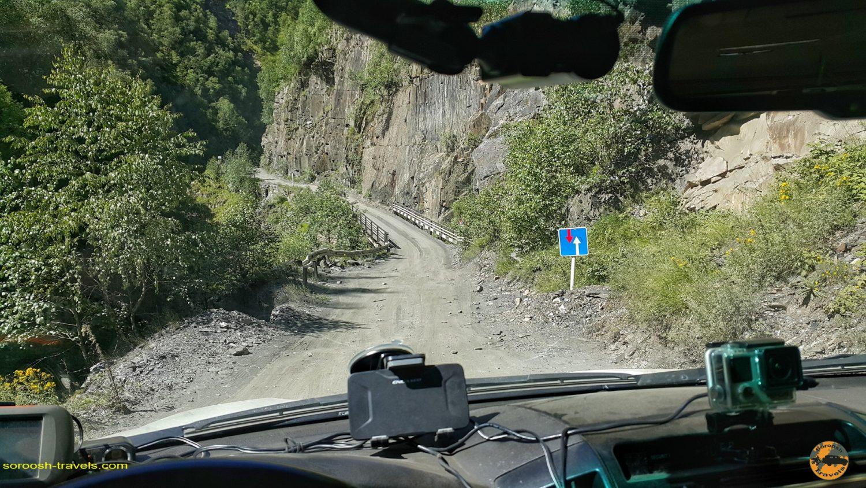 مسیر اوشگولی به مستیا در گرجستان - تابستان 1398 2019