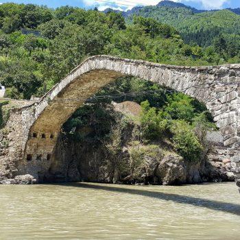 پل داندالو در مسیر باتومی در گرجستان - تابستان 1398 2019