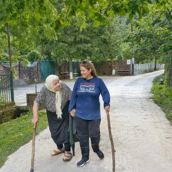 منطقه آبشار میروتی در گرجستان - تابستان 1398 2019