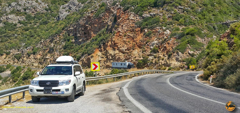 جاده ساحلی مدیترانه - جنوب ترکیه - تابستان 1398 2019