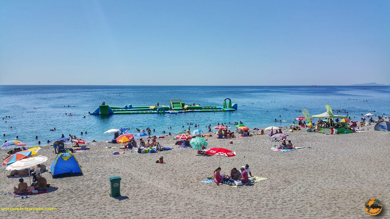 سواحل آنتالیا در ترکیه - تابستان 1398 2019
