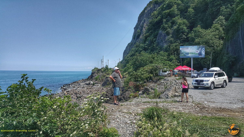 از باتومی در گرجستان بطرف مرز ترکیه - تابستان 1398 2019