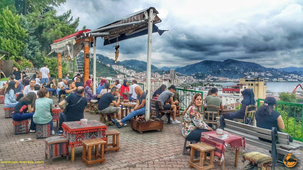 شهر گیرسون در ساحل دریای سیاه، ترکیه  – تابستان ۱۳۹۸