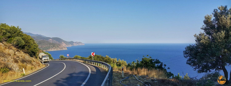 جاده ساحلی مدیترانه در ترکیه - تابستان 1398 2019