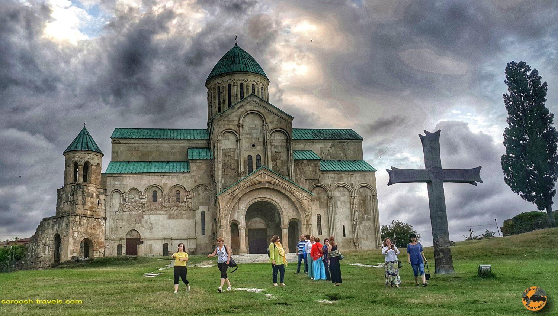 کلیسای باگراتی در شهر کوتایسی، گرجستان - تابستان 1398 2019