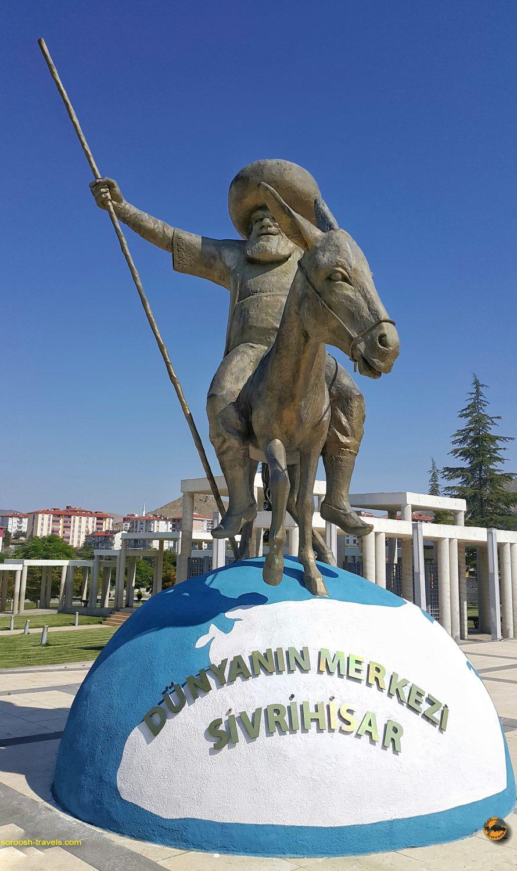 از  سیوری حصار، شهر ملانصرالدین بطرف آنتالیا در ترکیه  – تابستان ۱۳۹۸
