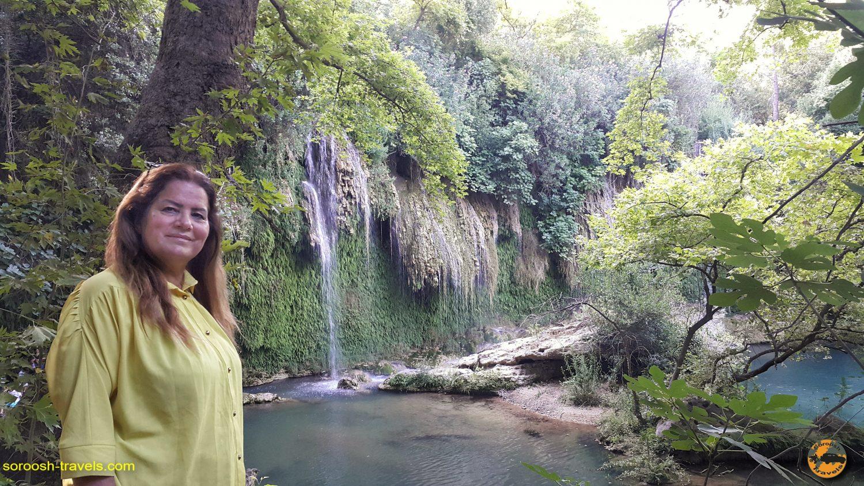 آبشار کورشونلو در حوالی آنتالیا، ترکیه - تابستان 1398 2019