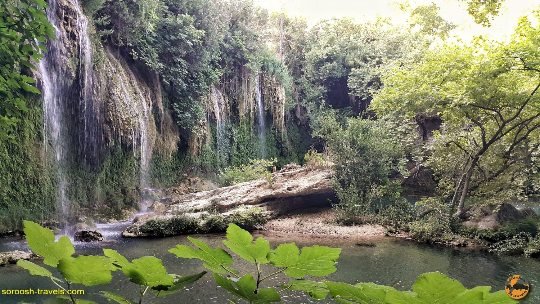 آبشار کورشونلو، حوالی آنتالیا در ترکیه  – تابستان ۱۳۹۸