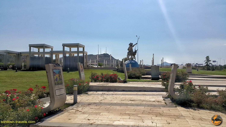 سیوری حصار شهر ملانصرالدین در ترکیه - تابستان 1398 2019