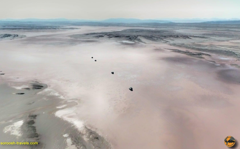 شاهکار تصاویر هوایی کویر مرکزی ایران – آذرماه ۱۳۹۸