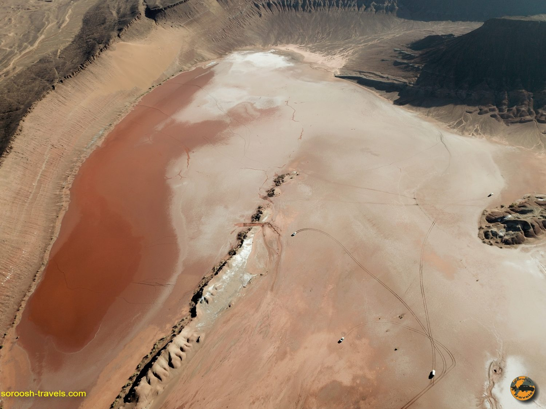 زیباترین تصاویر هوایی کویر مرکزی ایران – آذرماه ۱۳۹۸