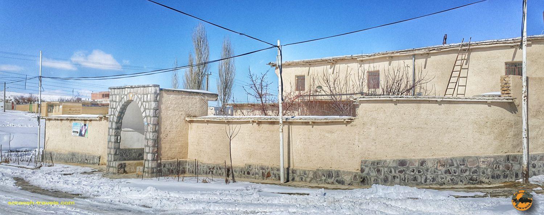 کلیسای غوکاس در روستای ارمنی نشین زرنه - زمستان ۱۳۹۸