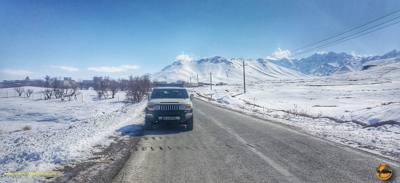 مسیر روستای ارمنی نشین زرنه - زمستان ۱۳۹۸